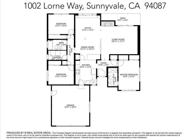 1002 Lorne Way Sunnyvale CA Home. Photo 31 of 31